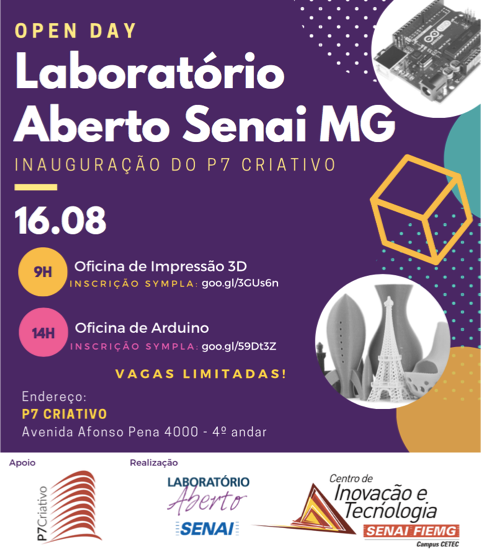 OPEN DAY/LAB ABERTO - OFICINA ARDUINO